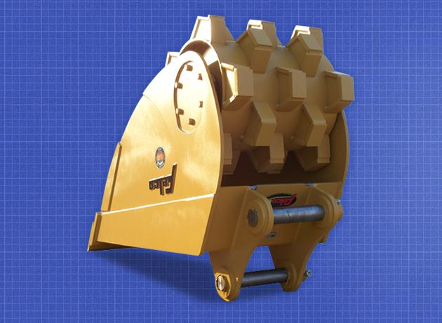 Roller Compaction Bucket   Felco Industries