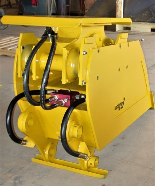 vibratory compaction Felco bucket