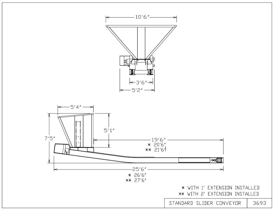 Bedding Conveyor Diagram