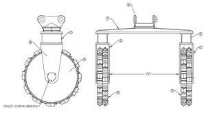 Straddle Wheel Diagram 1