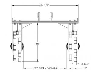 Straddle Wheel Diagram 3