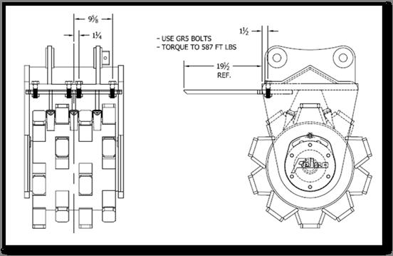 leveling blade diagram