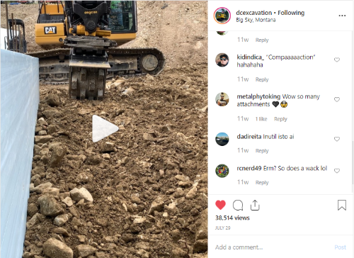 DC Excavation IG Post