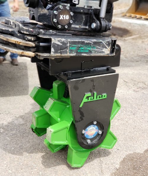 Felco Wheel Compactor Tiltrotators