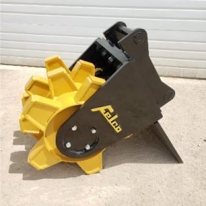 Felco wheel compactor from the side